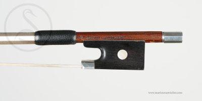 EF&EA Ouchard Violin Bow, Mirecourt circa 1925