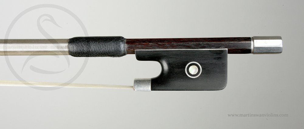 Marie Louis Piernot Violin Bow, Paris circa 1925