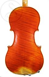 Gand & Bernardel Violin back photo