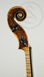 A Fine Prague/Vienna Violin scroll photo