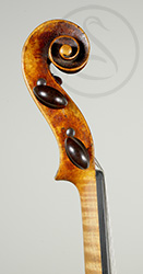 Fine Anonymous Violin scroll photo