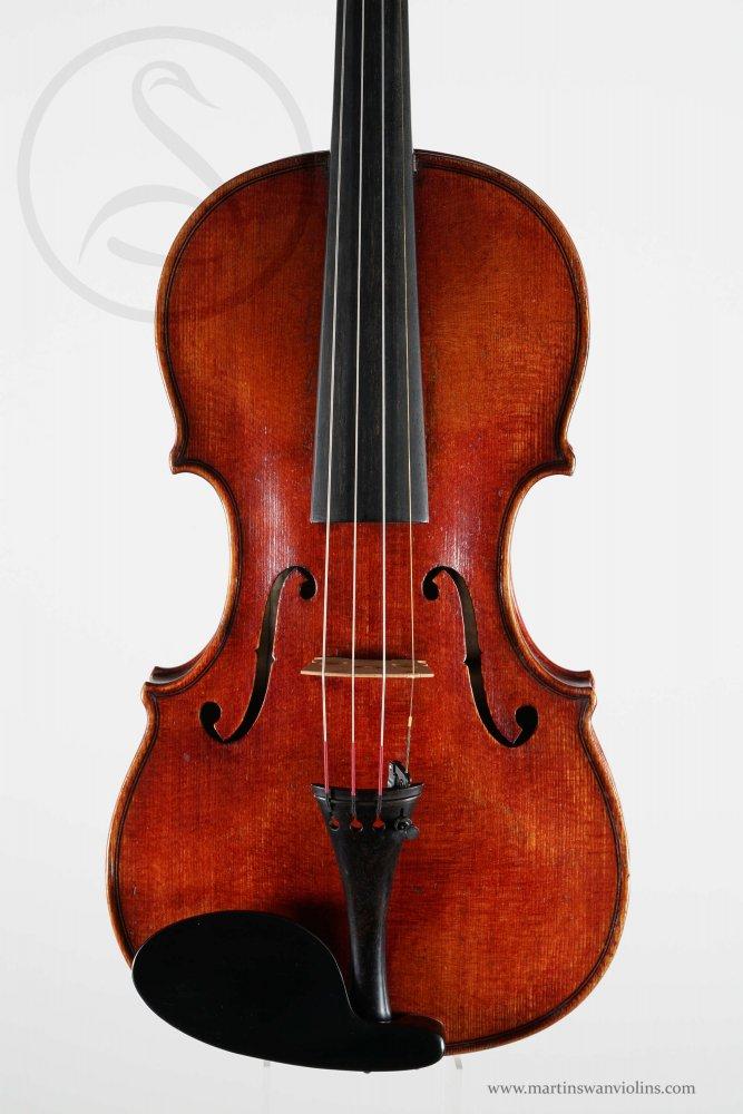 Paul Bailly Violin, Paris circa 1875