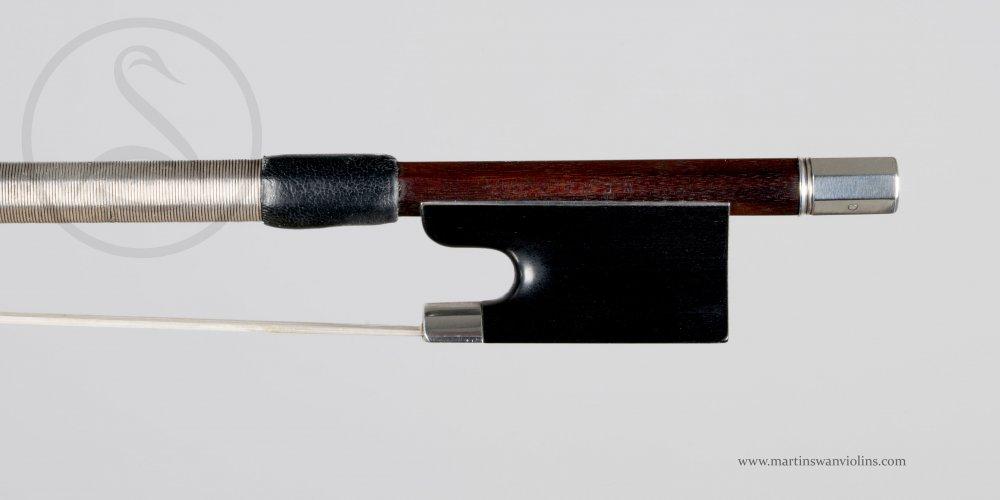 WE Hill & Sons Violin Bow, London circa 1910
