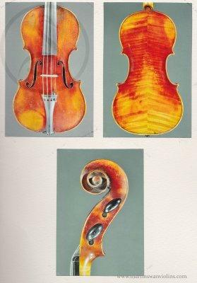 Joseph Hel Violin, Lille 1889