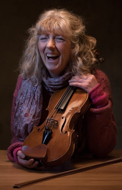 Jane Sinclair, violinist