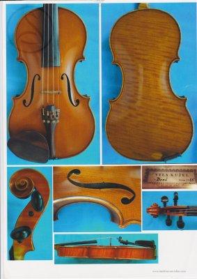 Vila Kužel Violin, Brno 1965