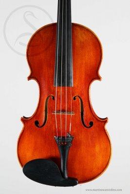 Julius Hubička Violin, Prague 1943