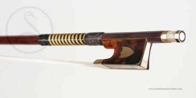 WE Hill & Son Violin Bow, London circa 1910