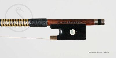 Franz Albert Nurnberger Violin Bow, circa 1895
