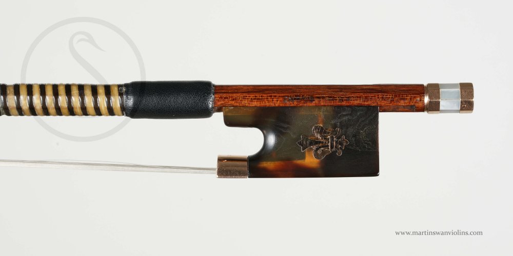 WE Hill & Sons Violin Bow, William Johnston circa 1935