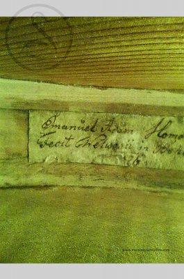 Emanuel Adam Homolka Violin, Velvary 1825