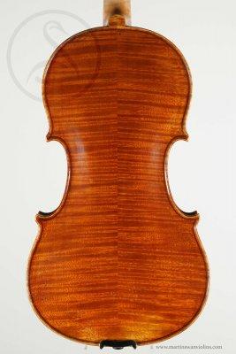 Riccardo Antoniazzi Violin, Milan 1911