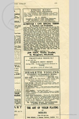 Luigi Salsedo Violin, 1928