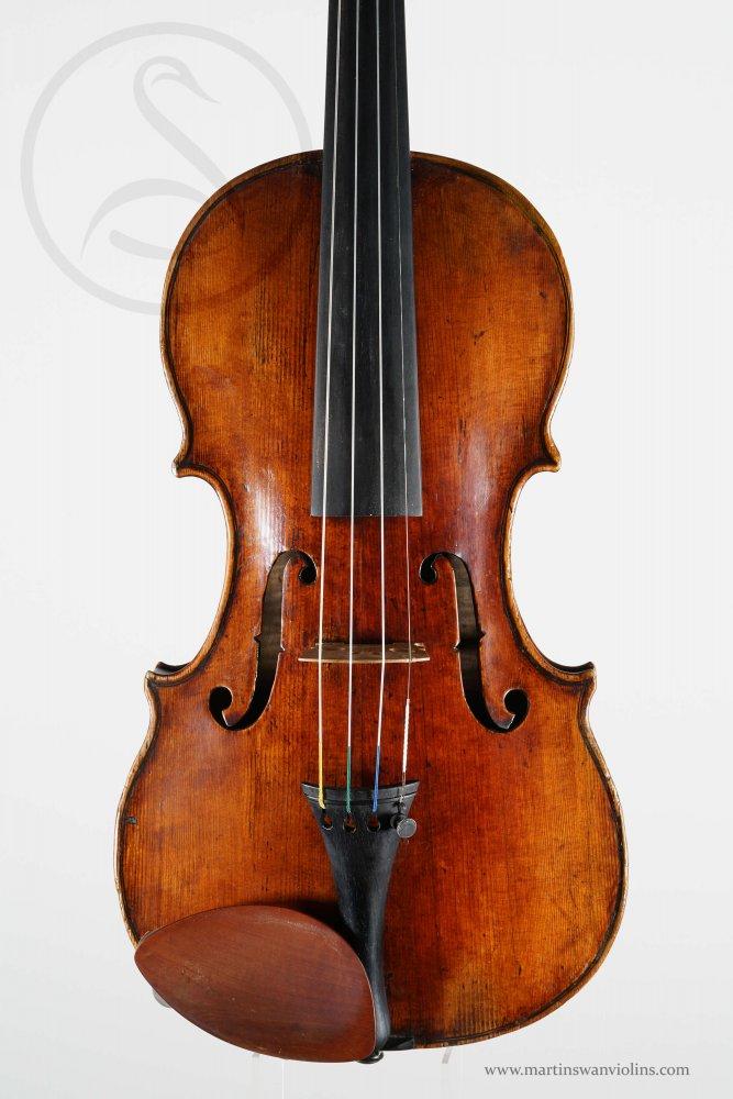 Giovanni and Giuseppe Dollenz Violin, Trieste circa 1855