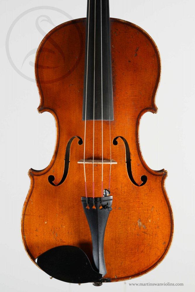 A Charles Brugère Workshop Violin labelled Luigeri, Mirecourt