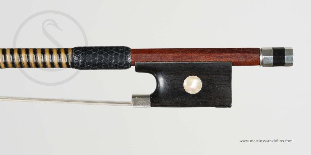Johann Wihelm Knopf Violin Bow, Markneukirchen circa 1870