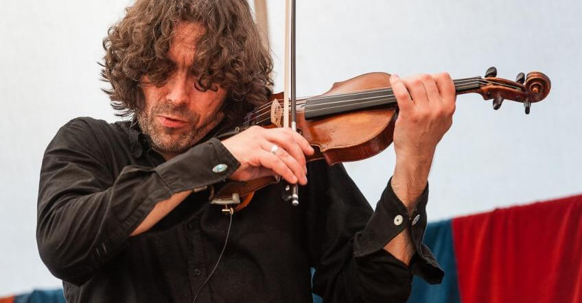 Greg Lawson playing Lev's Violin