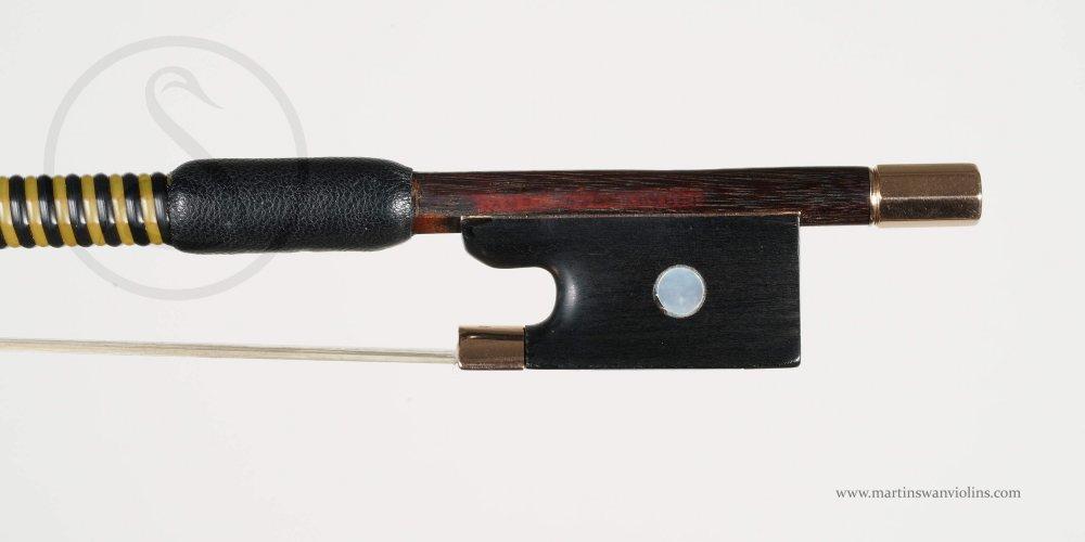 Franz Albert Nürnberger Violin Bow, Markneukirchen circa 1925